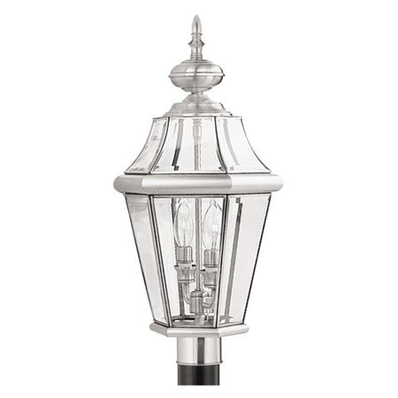 Georgetown 2 Light - Livex Lighting Georgetown 2 Light Outdoor Post Lantern