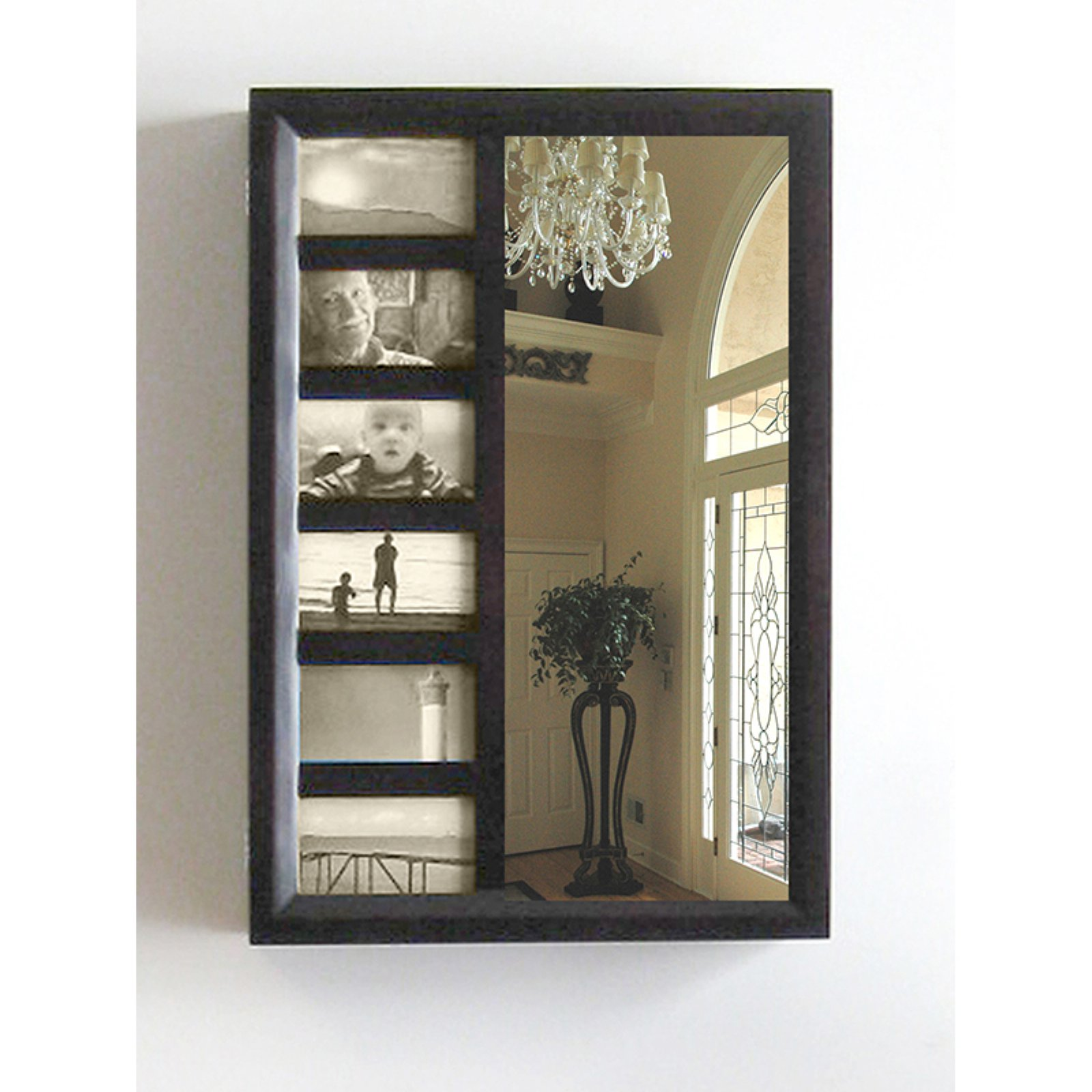 Bellissimo Wall Mount Jewelry Armoire - 16W x 23H in.