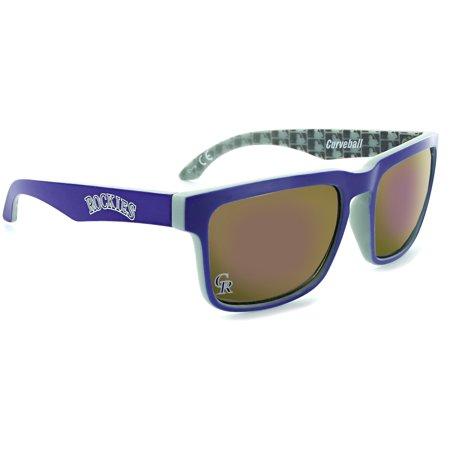 Colorado Rockies Curveball Sunglasses - (Colorado Rockies Sunglasses)