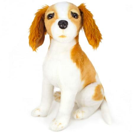 - VIAHART Kendrick The King Charles | 15 Inch Stuffed Animal Plush Tiger Tale Toys