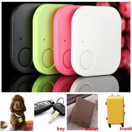 Mini Bluetooth Key Tracker Finder Smart Tag GPS Locator For Key Child Kid Pet Dog Cat Bag Anti Lost Alarm