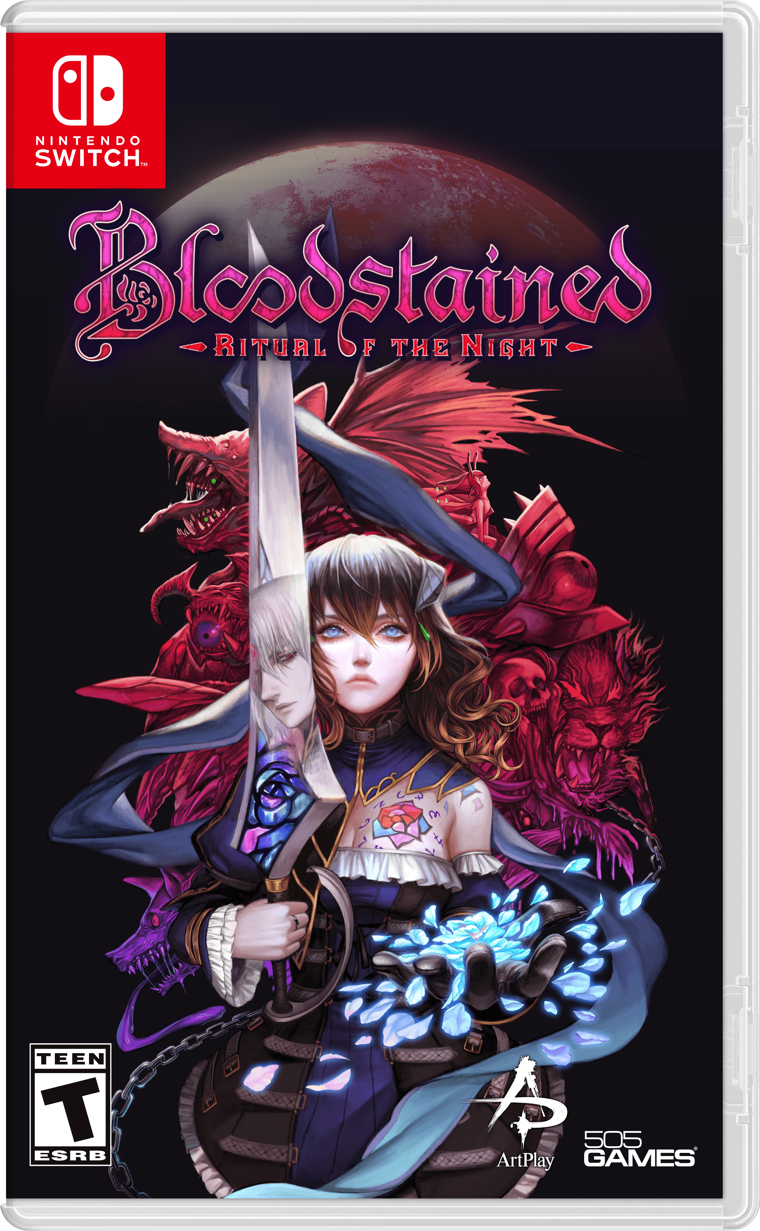 Bloodstained: Ritual of the Night, 505 Games, Nintendo Switch, 812872017174