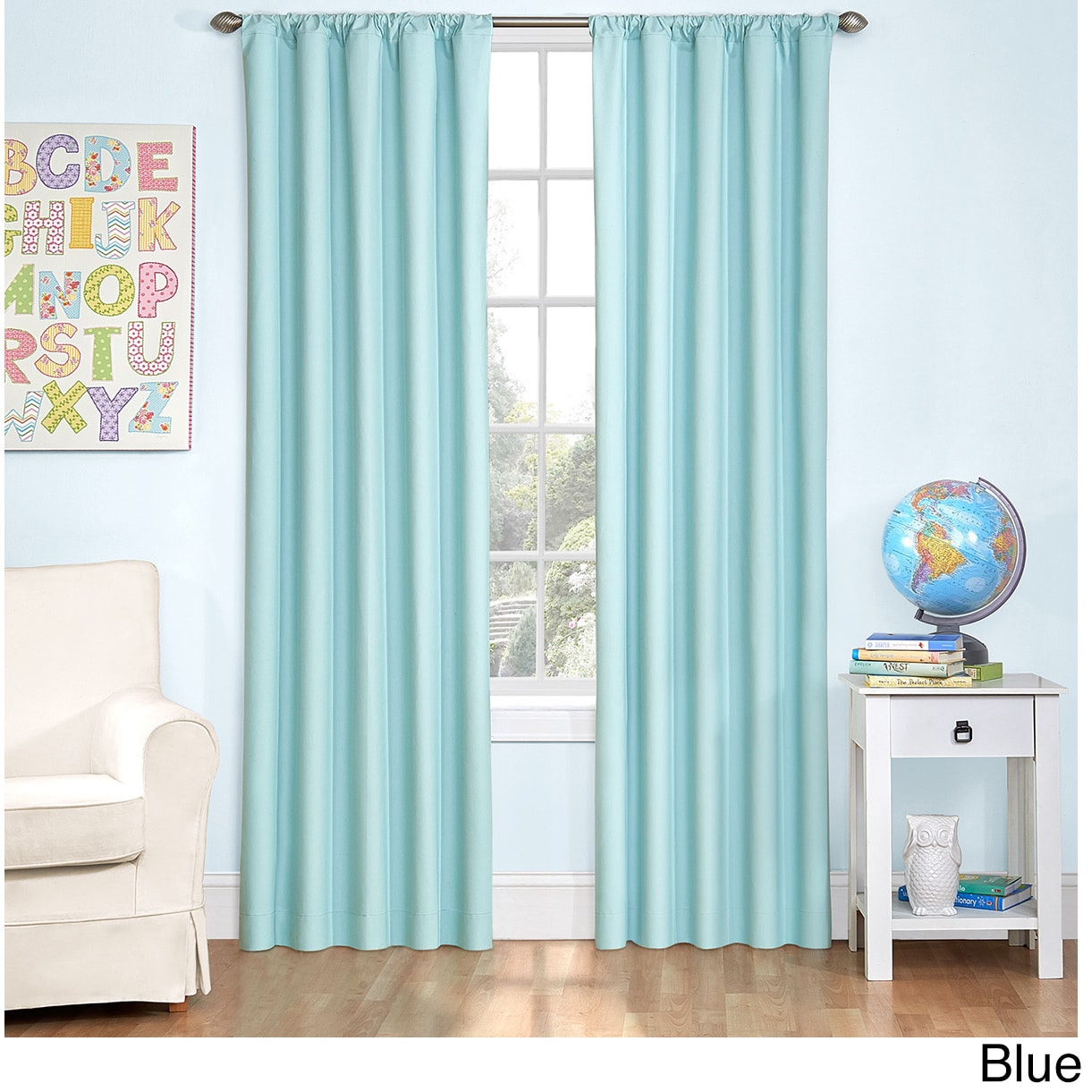 Eclipse Curtains Kids Blackout Thermal Single Curtain Panel