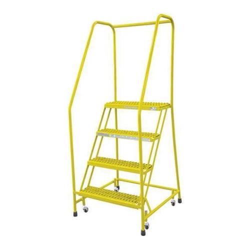 Cotterman 1504R2630A1E10B3C2P6 Rolling Ladder,Steel,70In....