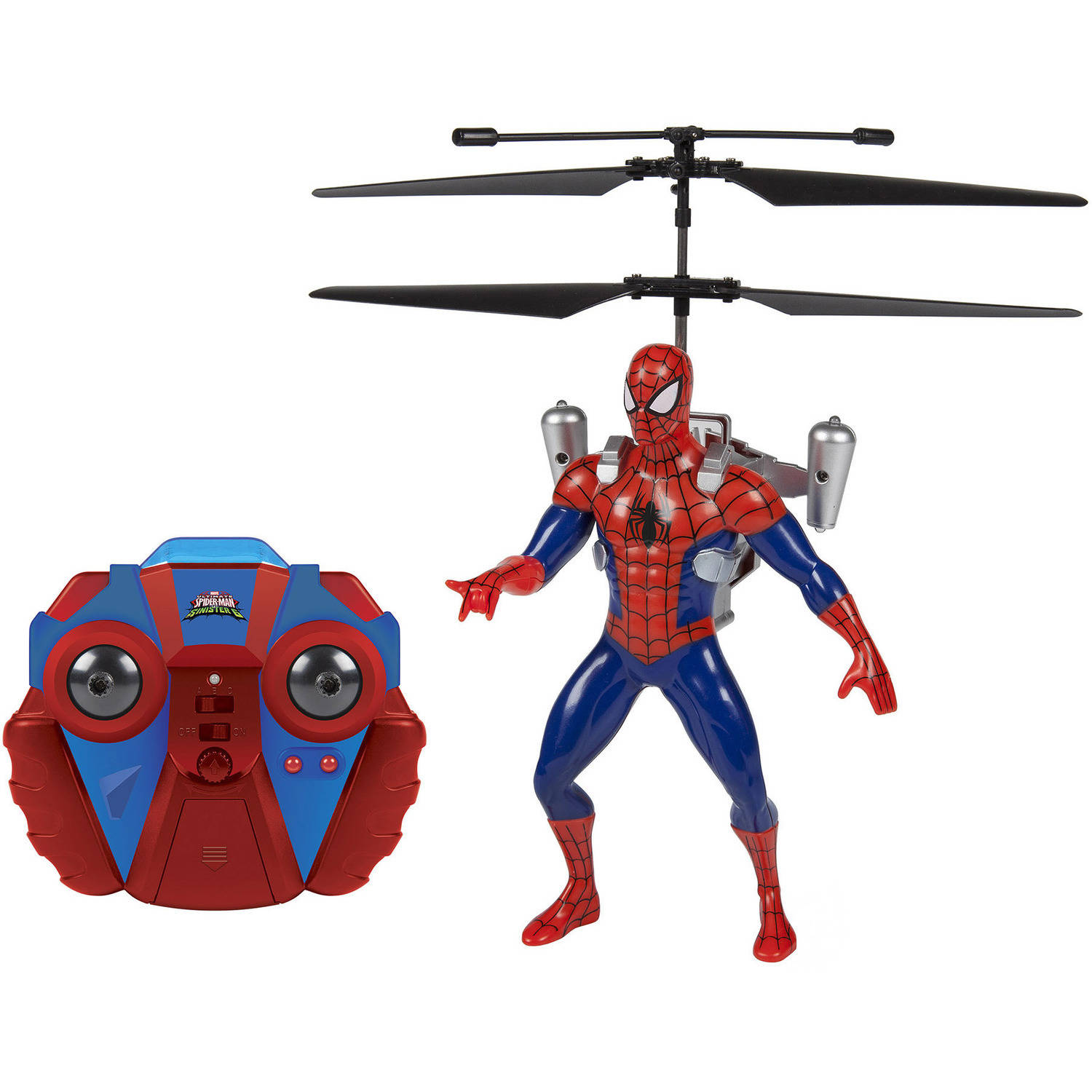 Marvel Ultimate Spider-Man Vs The Sinister 6 Jetpack 2-Channel IR RC Helicopter