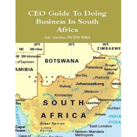 CEO Guide to Doing Business in South Africa - (Ideas For Home Business In South Africa)
