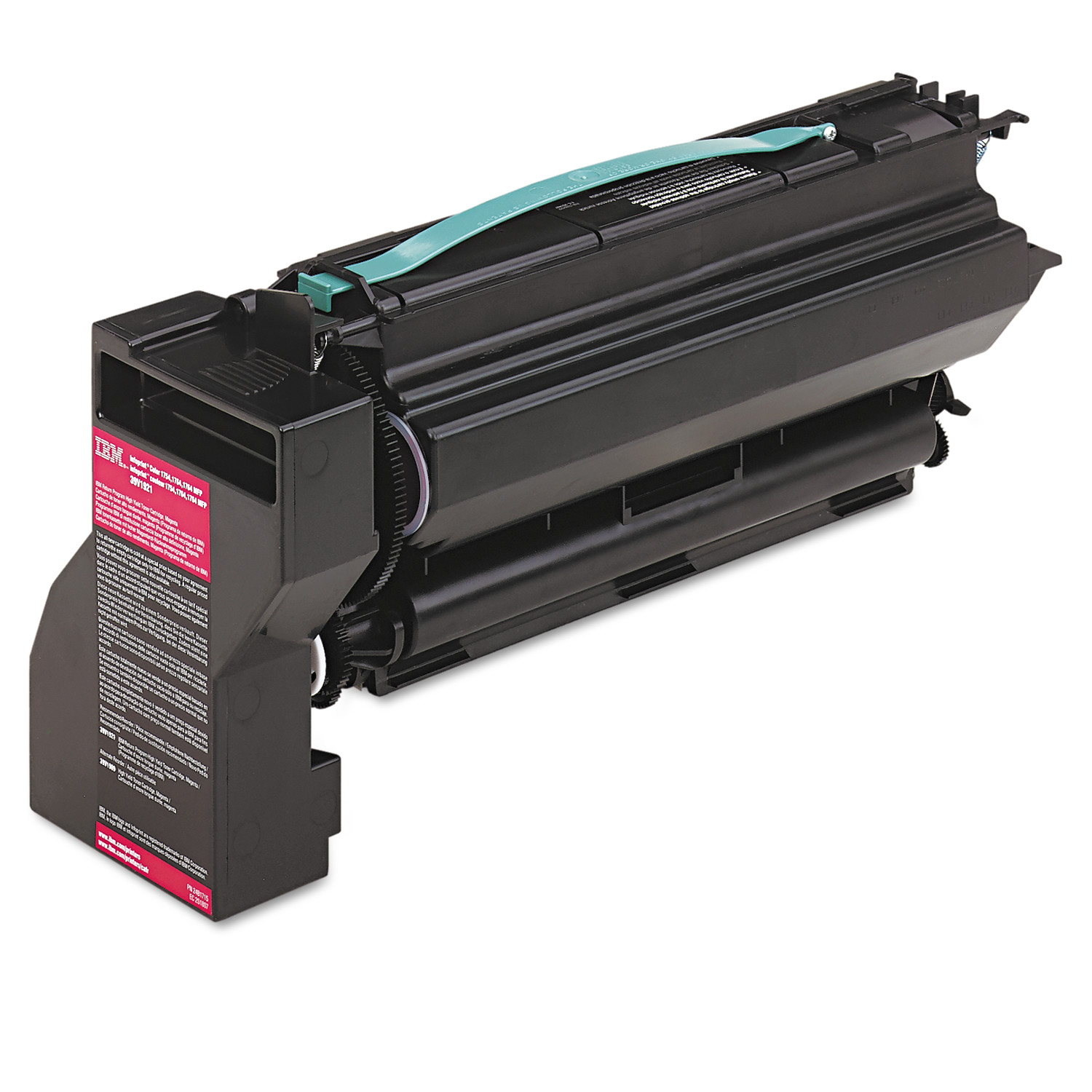 InfoPrint Solutions Company 39V1921 High-Yield Toner, 10000 Page-Yield, Magenta