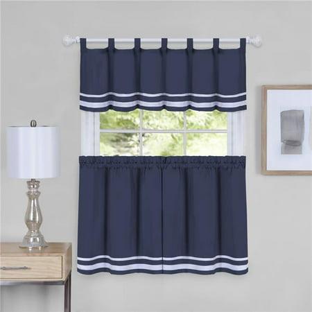 58 X 36 In Dakota Window Curtain Tier