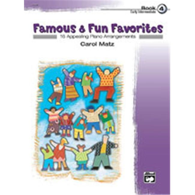 Alfred 00-23250 Famous & Fun Favorites- Book 4 - Music Book