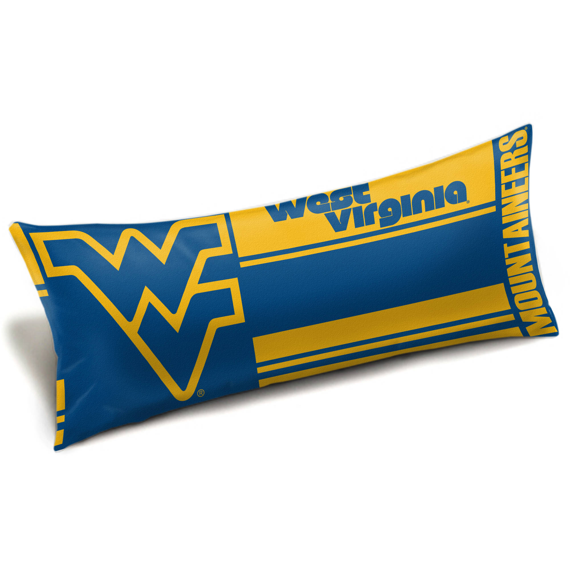 "NCAA West Virginia Mountaineers ""Seal"" Body Pillow"