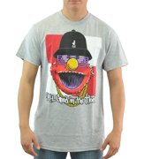 Sesame Street All Good in The Hood Grey Licensed T-shirt New Sizes S-2XL by