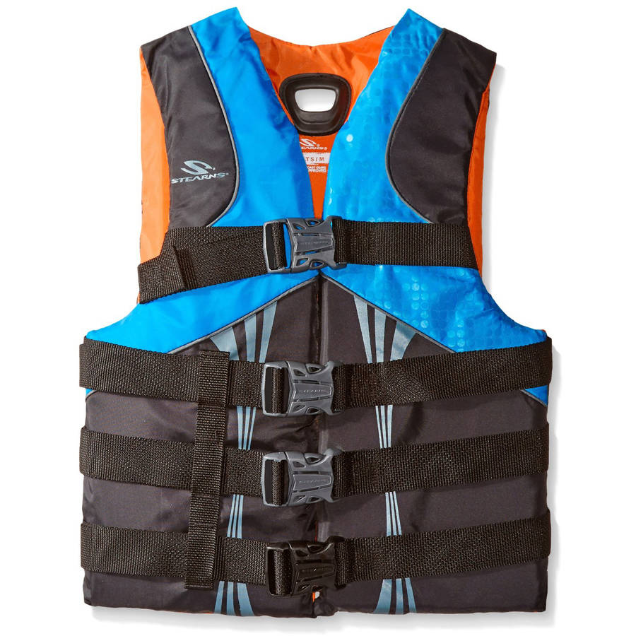 stearns men Buckle into the flexible backup adrenaline junkies need with a stearns men's illusion series v-flex life jacket whether you're riding a wake or swimming a mile, the v-flex sculpted back design moves-comfortably with you.