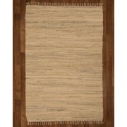 Natural Area Rugs Mystic Hand-Woven Beige Area Rug