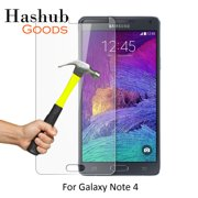 Hashub Goods HD 9H Tempered Glass Clear Screen Protector for Samsung Galaxy Note 4