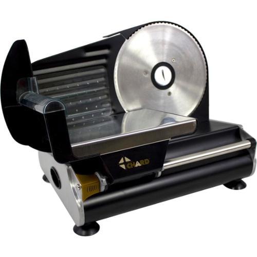 """Chard 7.5"""" Electric Slicer - 7.50"""" Blade - Black"""