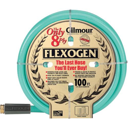 Gilmour 10-12100 1/2 in X 100' 8 Ply Flexogen Garden Hose
