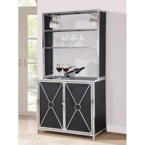 Terrific Orren Ellis Bairdstown Bar Cabinet Home Interior And Landscaping Mentranervesignezvosmurscom