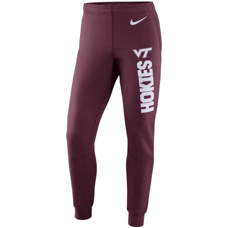 Virginia Tech Hokies Nike Tapered Stadium Pants - Maroon (Nike Tech Core)