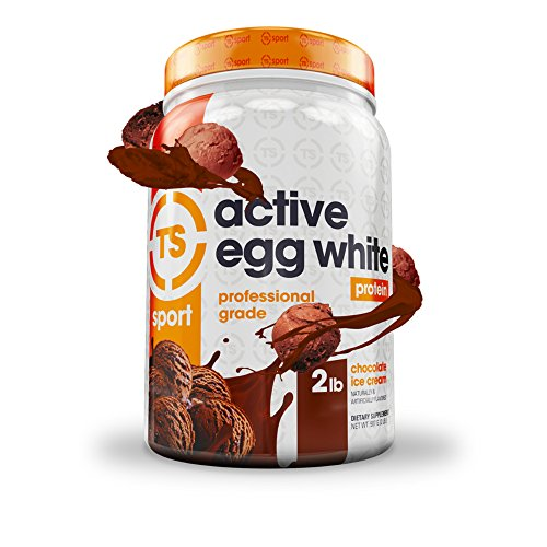 Top Secret Nutrition Active Egg White Protein (2 lbs) Chocolate