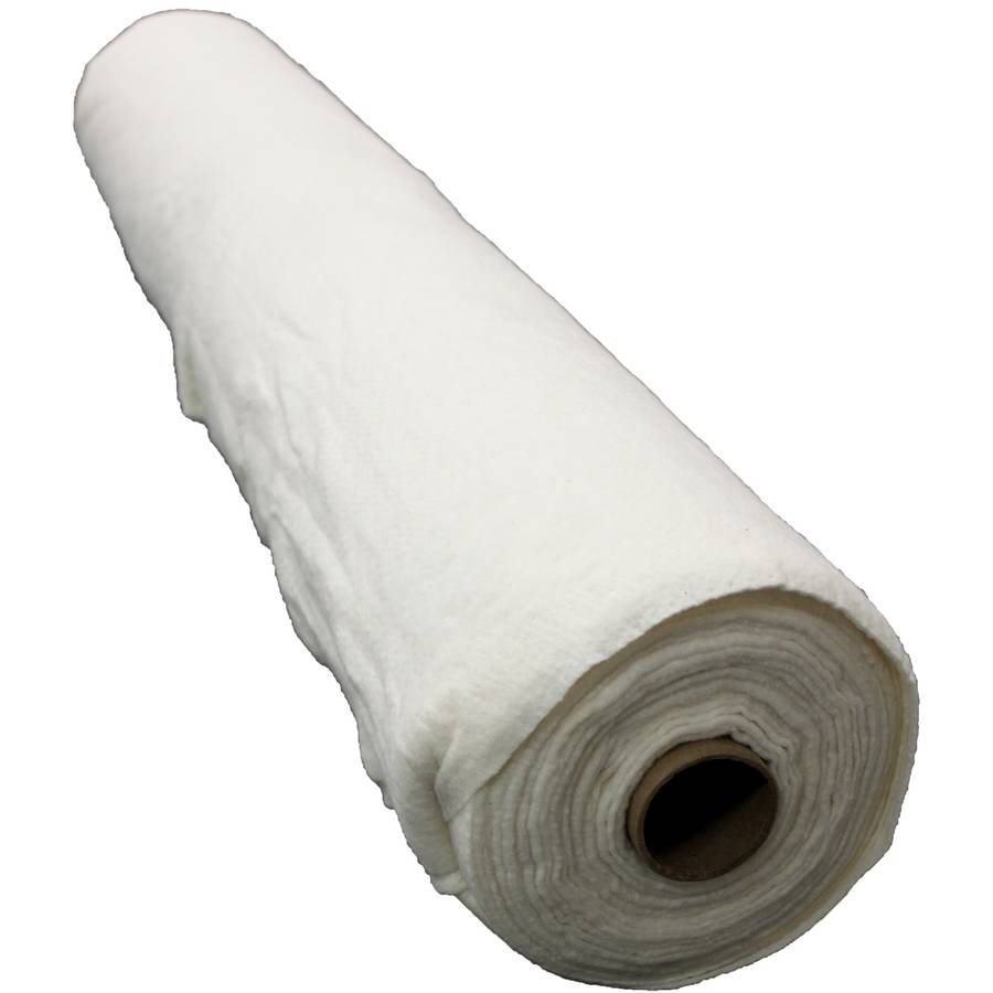 "Pellon B 50/50 Bamboo/Cotton Batting with Scrim, Needle Punched, 90"" x 6 yd Roll"