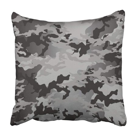 ARHOME Green Camo Fashionable Camouflage Pattern Military Desert Combat Commando Dress Pillowcase 18x18