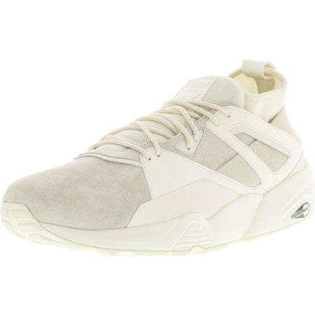 Puma Men's Bog Sock Core White Ankle-High Fashion Sneaker - 11.5M ()