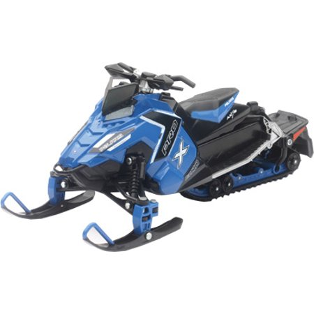 NewRay Polaris Snowmobile SWI Blue