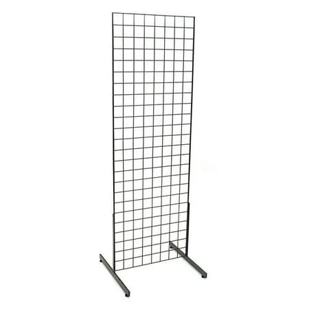 Grid Unit 2'X6' Black, With Legs - Panel Display Unit