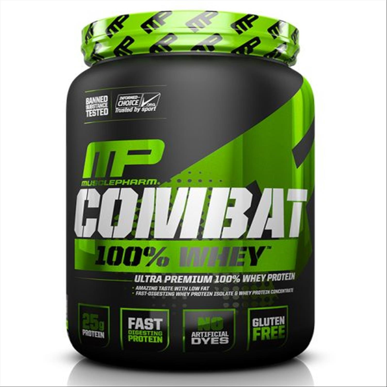 Muscle Pharm COMBAT 100% WHEY 5lb CHCOLATE MILK V-MPCOMW5C