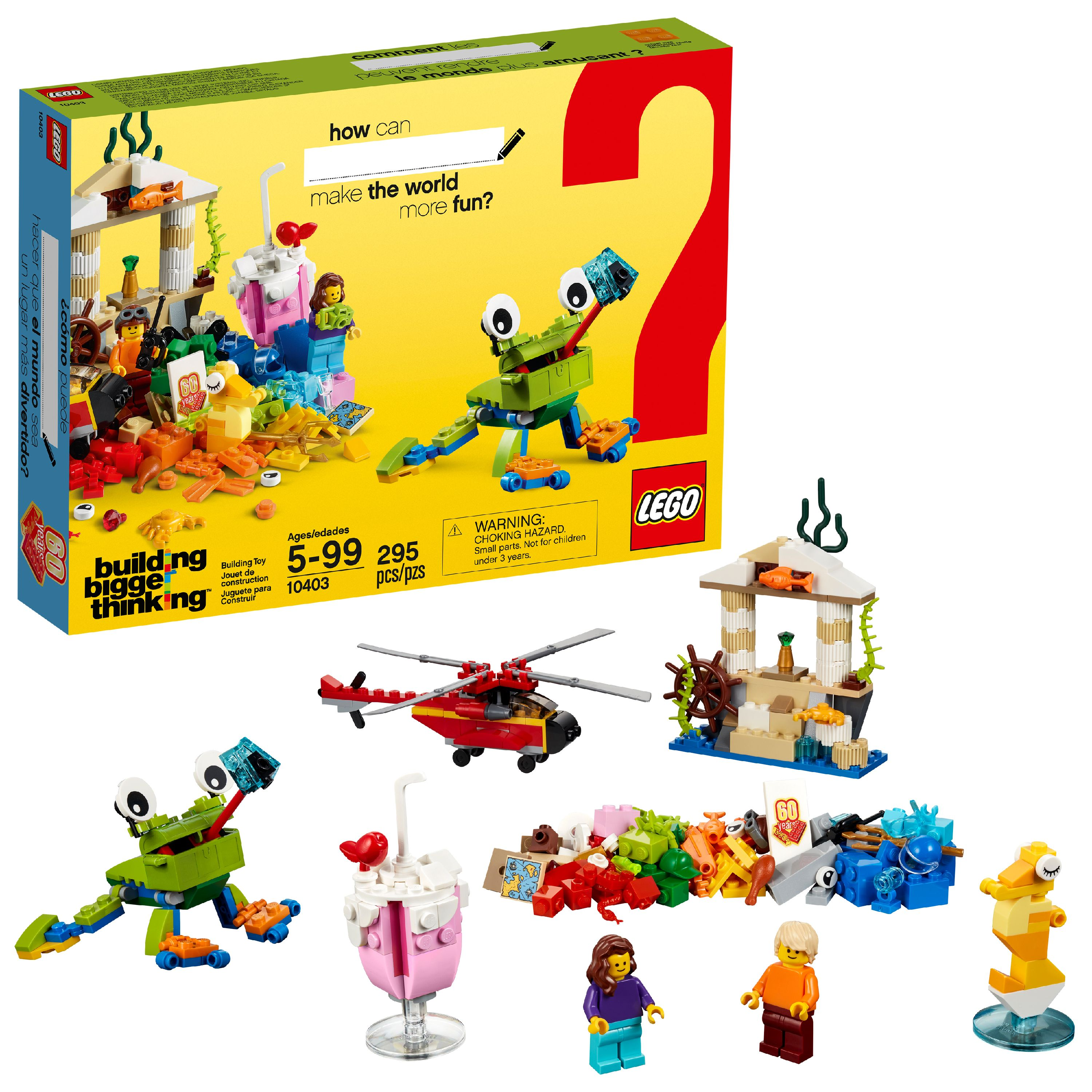 LEGO Brand Campaign Products World Fun 10403