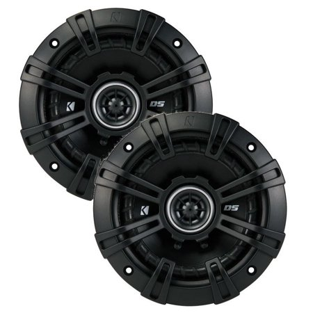 43DSC504 KICKER 5.25-Inch (130mm) Coaxial Speakers,