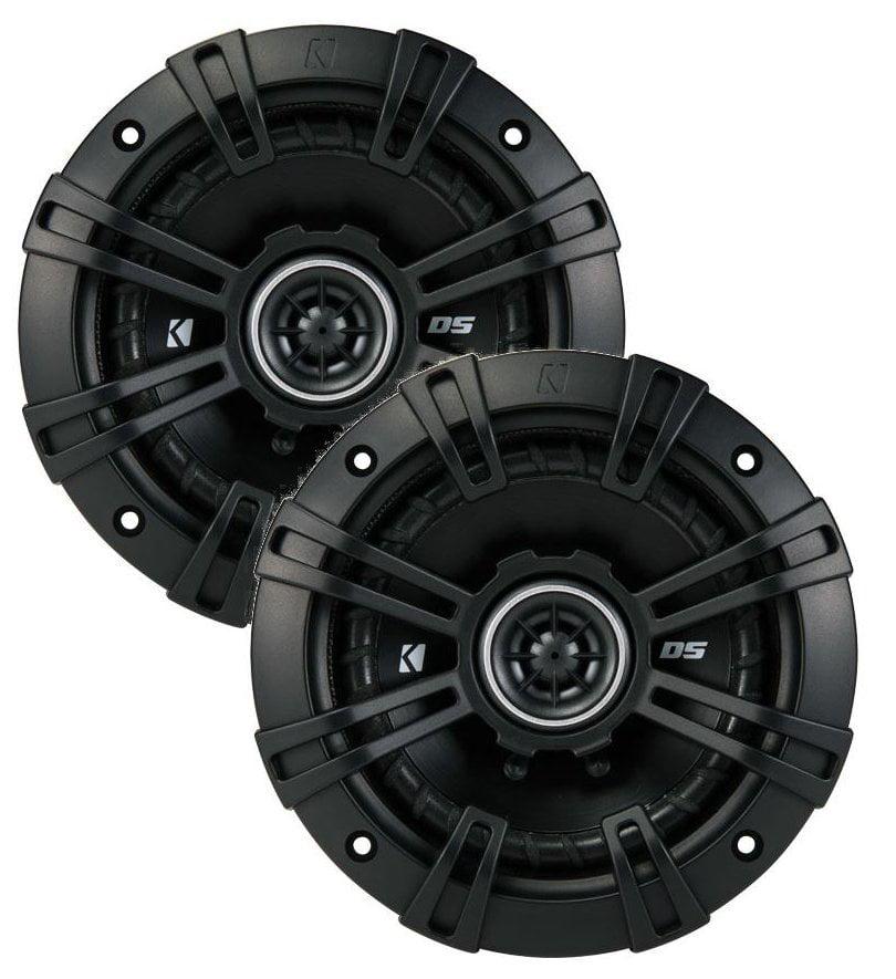 43DSC504 KICKER 5.25-Inch (130mm) Coaxial Speakers, 4-Ohm