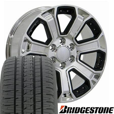 22 Inch Tires >> Oe Wheels 22 Inch Fit Chevy Silverado Tahoe Gmc Sierra Yukon