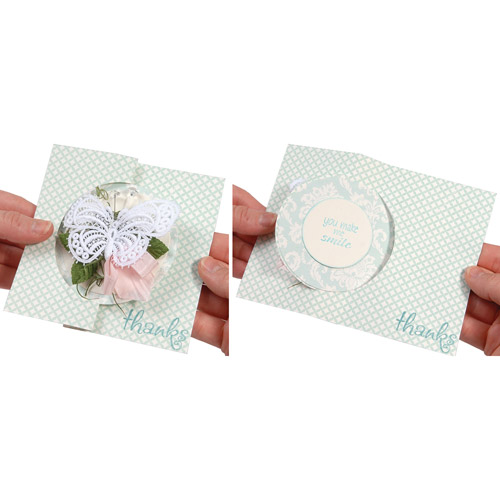 Sizzix Movers & Shapers L Die, Card, Circle Flip-Its