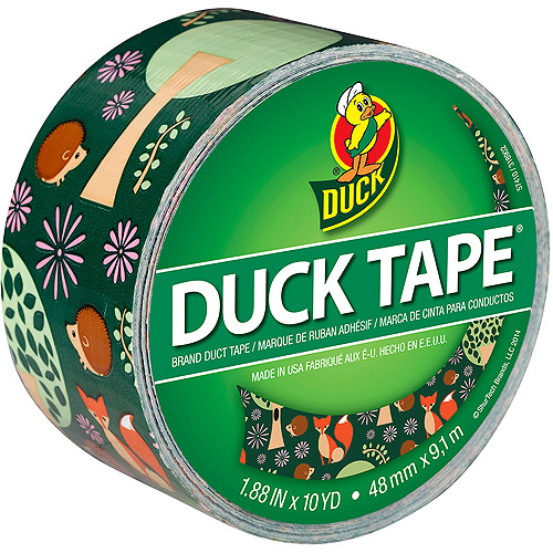"Patterned Duck Tape, 1.88"" x 10yd"