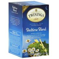 Twinings Bedtime Blend Herbal Tea Bags, 1.02 oz, (Pack of 6)