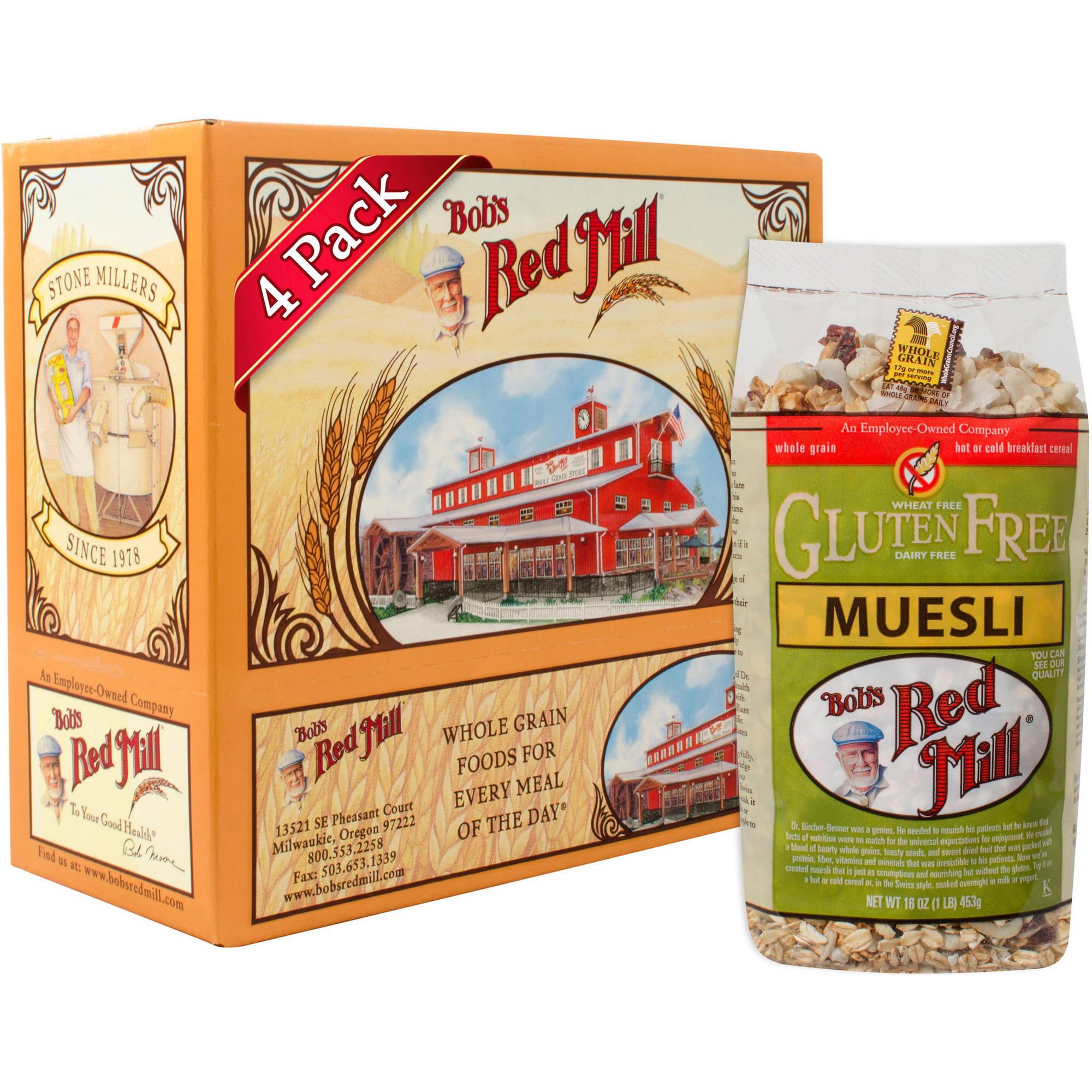 Bob's Red Mill Muesli Nutrition Facts