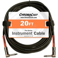 ChromaCast Pro Series Instrument Cable, Angle-Angle