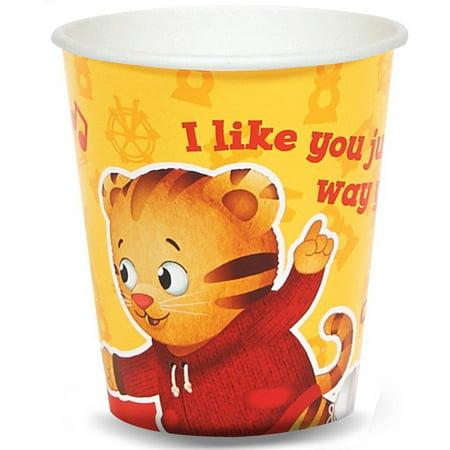 - Daniel Tiger's Neighborhood 9-Ounce Paper Cups