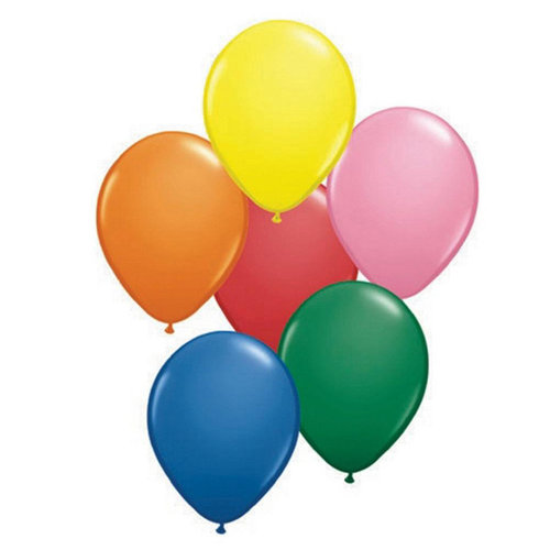 """Qualatex 16"""" Balloons, Assorted Colors, 50-Pack"""