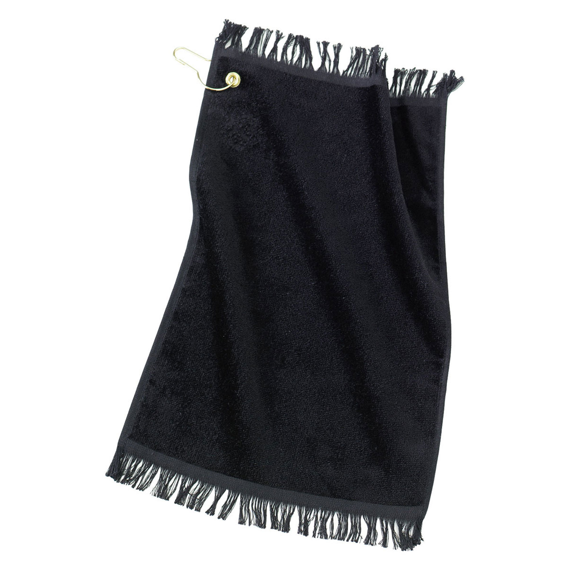 Port & Company Soft Grommeted Fingertip Terry Towel_Red_One Size