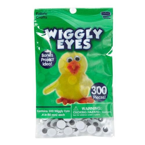 Kids Craft Wiggly Eyes, 300pk