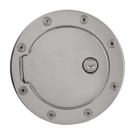 - Gas Fuel Door, Aluminum Billet Lock Gas Door For 2010 Ford F150 Gas Door