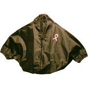 The SHOWER SHIRT Mastectomy Shower Shirt Black, Small/Medium, 1ct