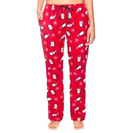 Twin Boat Women's Microfleece Lounge Pants with -