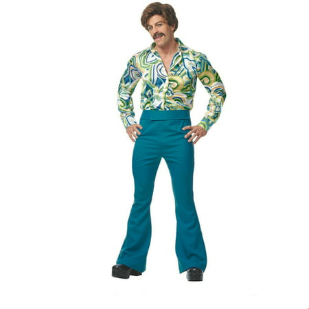 Men's 70s Dude Halloween Costume - 70s Halloween Party Ideas
