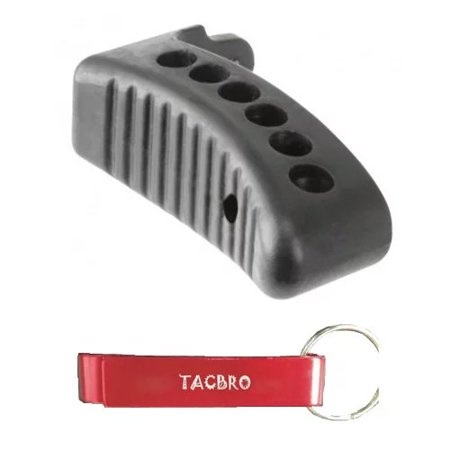 TACBRO MOSIN NAGANT BUTTPAD with One Free TACBRO Aluminum Opener(Randomly Selected