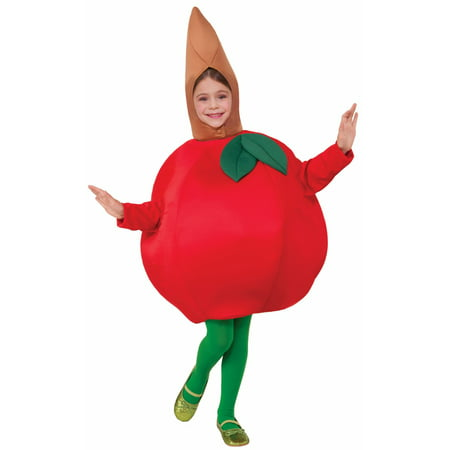 Kid's Red Apple Costume