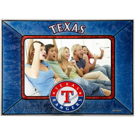 Texas Rangers Horizontal Art Glass Frame - No Size ()