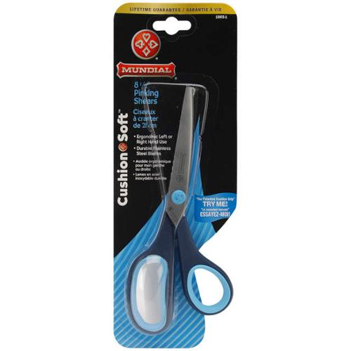 "Cushion Soft Pinking Shears 8-1/2""-"